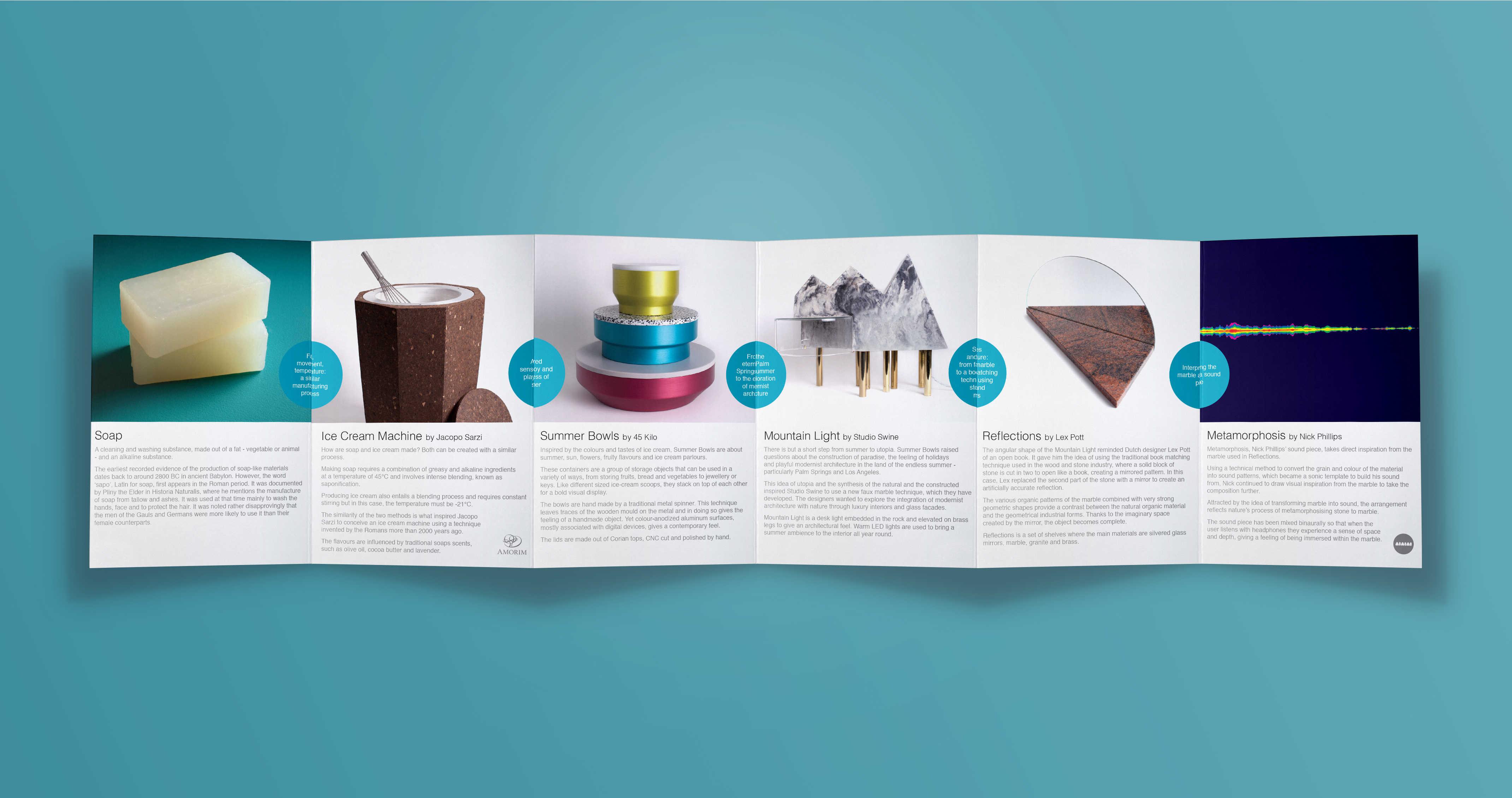 graphic DE Roca brochure
